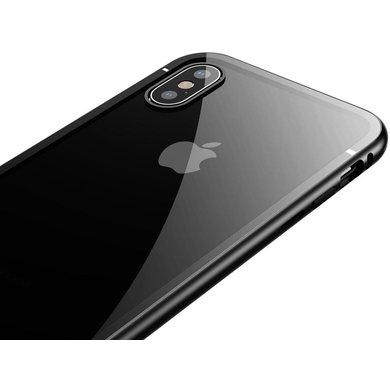 Чехол-накладка Baseus Magnetite Hardware Case для Apple iPhone Xs Max пластиковый черный