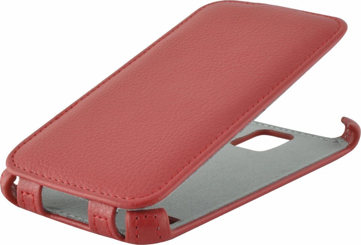 Чехол-книжка Armor Case для Samsung Galaxy S5 искусственная кожа красныйдля Samsung<br>Чехол-книжка Armor Case для Samsung Galaxy S5 искусственная кожа красный<br>