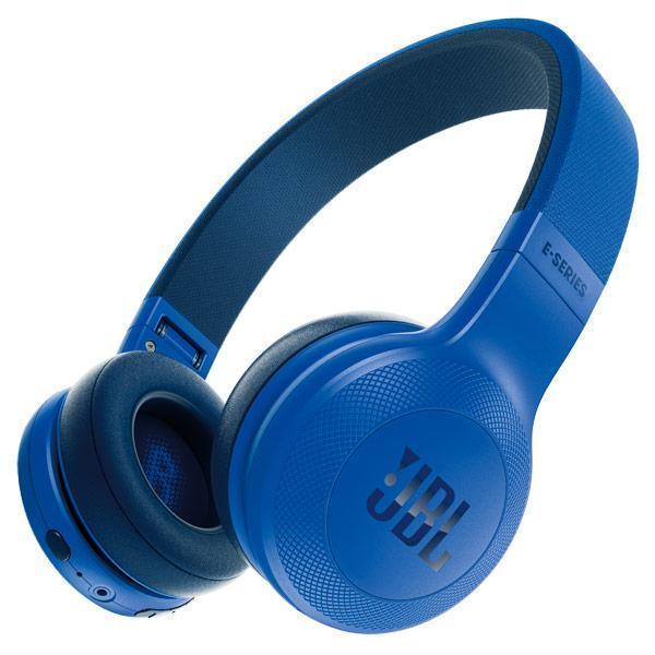 Купить Беспроводные Bluetooth cтерео-наушники JBL E45BT (Blue) (JBLE45BTBLU)
