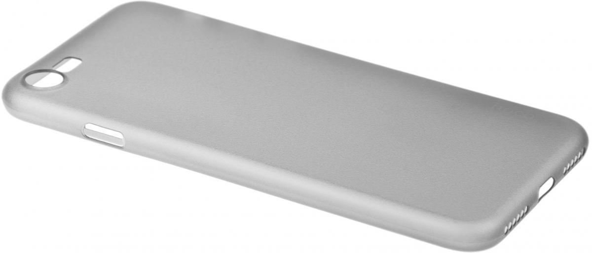 Чехол-накладка Hoco Light Series для Apple iPhone 7/8 силиконовый прозрачно-черныйдля iPhone 7/8<br>Чехол-накладка Hoco Light Series для Apple iPhone 7/8 силиконовый прозрачно-черный<br>
