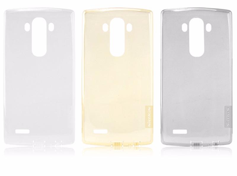 Чехол-накладка Nillkin Nature 0.6mm для LG G4 / H818 / H815 силиконовый прозрачный