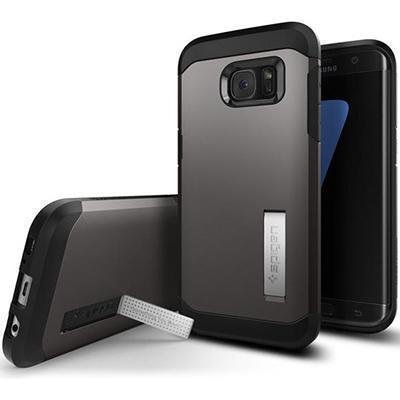 Чехол-накладка Spigen Slim Arrmor для Samsung Galaxy S7 (SGP-555CS20012)Gunmetalдля Samsung<br>Чехол-накладка Spigen Slim Arrmor для Samsung Galaxy S7 (SGP-555CS20012)Gunmetal<br>