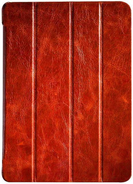 Чехол-книжка Borofone General Series для Apple iPad Air (натуральная кожа с подставкой) оранжевый