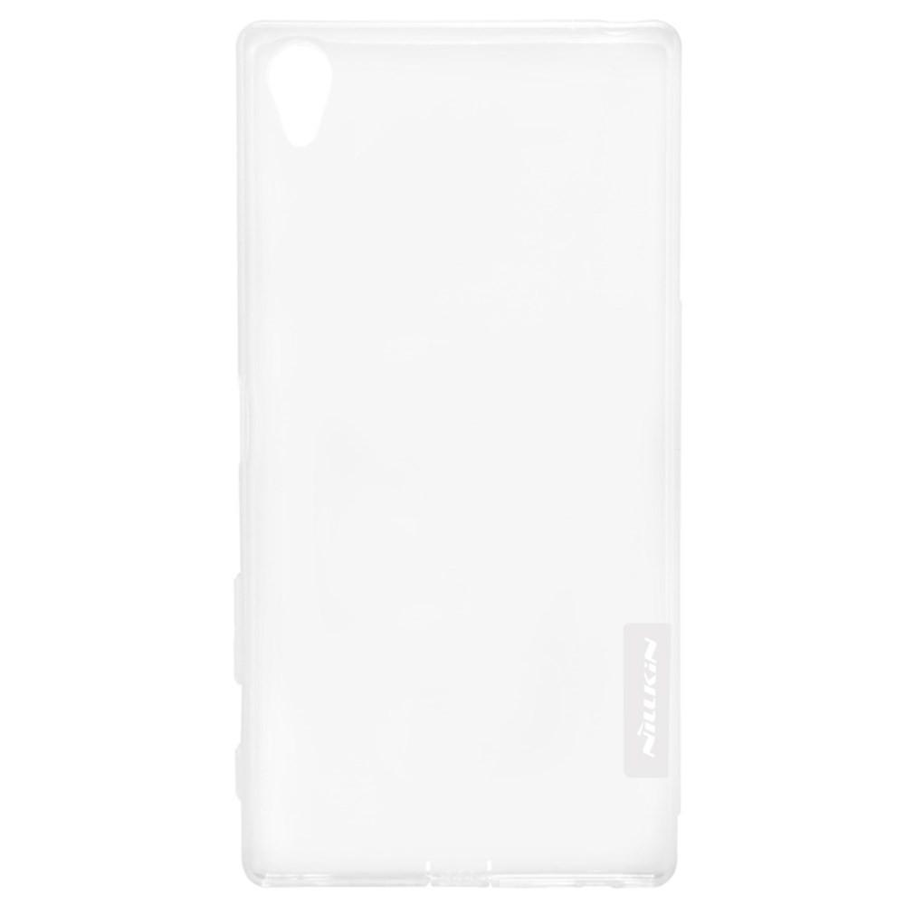 Чехол-накладка Nillkin Nature 0.6mm для Motorola Nexus 6 силиконовый (прозрачно-черный)