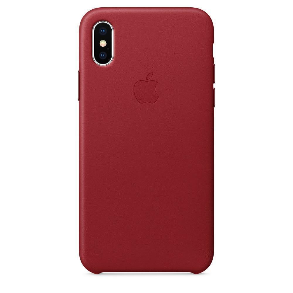 Купить Чехол-накладка Apple Silicone Case для iPhone X силикон (PRODUCT) Red (MQT52ZM/A)