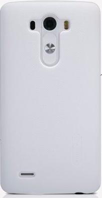 Чехол-накладка Nillkin Frosted Shield для LG G3 / G3 Dual / D855 / D858 (пластиковый) White