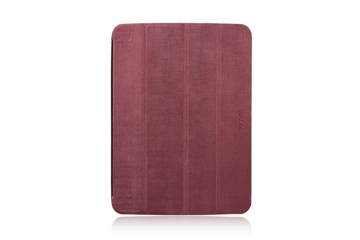 Чехол-книжка Gissar Metallic для Samsung Galaxy Tab 3 10.1 (P5200/P5210) натуральная кожа бордовый