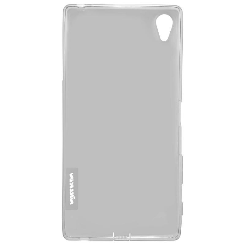 Чехол-накладка Nillkin Nature для Sony Xperia Z5 Premium силиконовый прозрачно-черныдля Sony<br>Чехол-накладка Nillkin Nature для Sony Xperia Z5 Premium силиконовый прозрачно-черны<br>