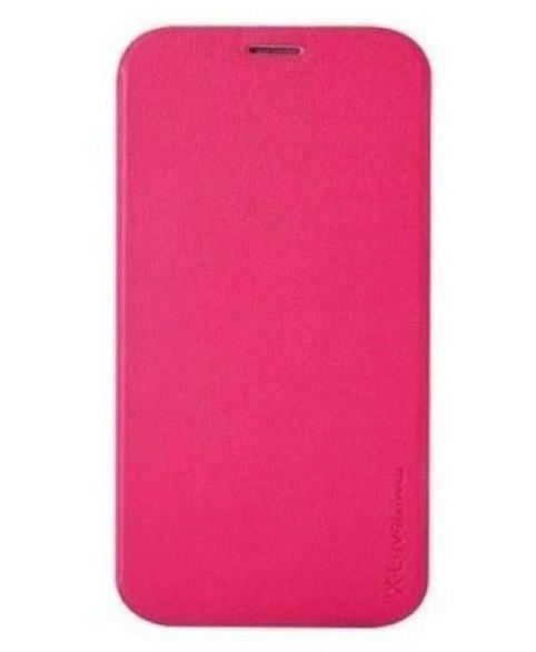 Чехол-книжка Pipilu FIBcolor X-Level для Samsung Galaxy Alpha G850F искусственная кожа (розовый) фото