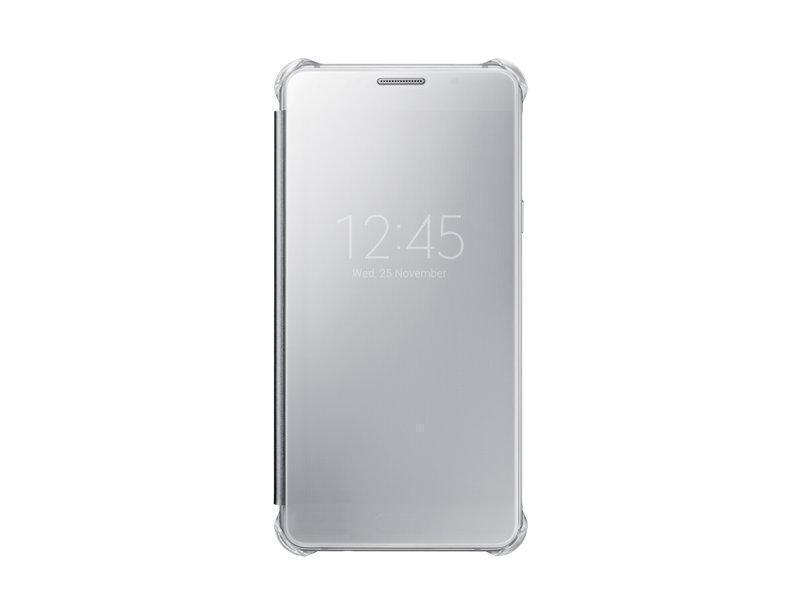 Чехол-книжка Samsung Clear View Cover для Galaxy A5 (2016) поликарбонат,полиуретан серый ZA510CSEGRUдля Samsung<br>Чехол-книжка Samsung Clear View Cover для Galaxy A5 (2016) поликарбонат,полиуретан серый ZA510CSEGRU<br>