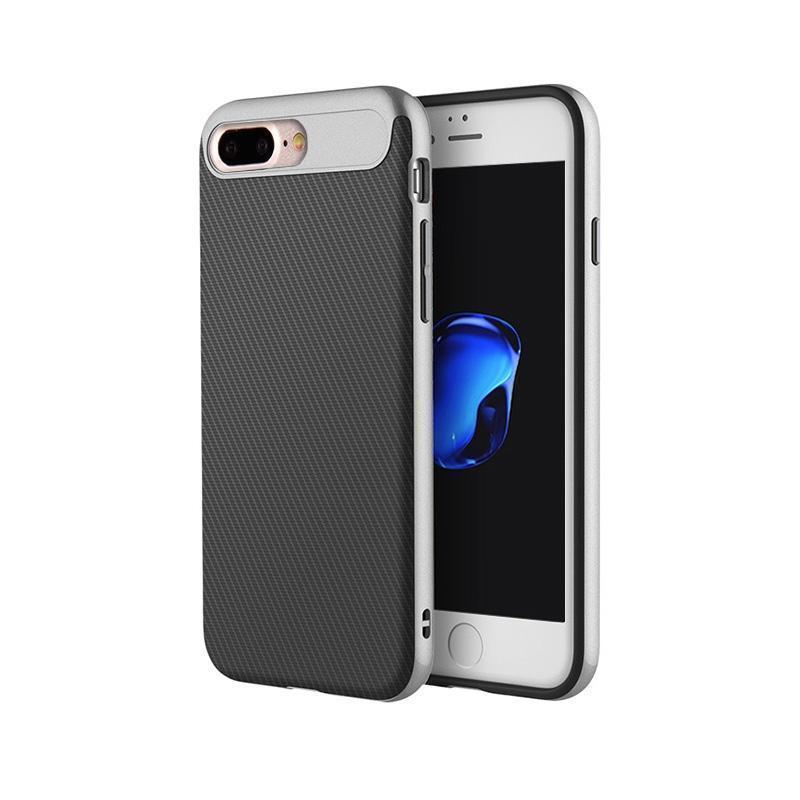 Чехол-накладка Rock Vision Series для Apple iPhone 7 Plus/8 Plus силикон-пластик (Grey)для iPhone 7 Plus/8 Plus<br>Чехол-накладка Rock Vision Series для Apple iPhone 7 Plus/8 Plus силикон-пластик (Grey)<br>