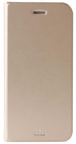 Чехол-книжка Puro Eco-leather Cover для Apple iPhone 6 Plus/6S Plus искусственная кожа золотойдля iPhone 6 Plus/6S Plus<br>Чехол-книжка Puro Eco-leather Cover для Apple iPhone 6 Plus/6S Plus искусственная кожа золотой<br>