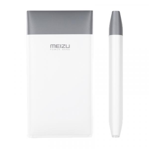 Универсальный внешний аккумулятор Meizu M10 10000 mAh, (mCharge) 9V/2A, USBx1 пластик белый