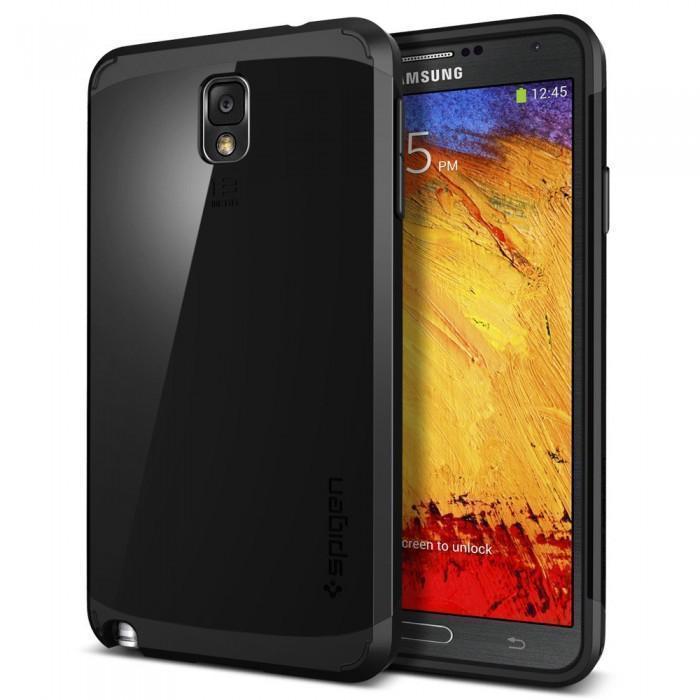 Чехол-накладка Spigen Neo Hybrid SGP10458 для Samsung Galaxy Note 3 резина, пластик (чёрный)для Samsung<br>Чехол-накладка Spigen Neo Hybrid SGP10458 для Samsung Galaxy Note 3 резина, пластик (чёрный)<br>