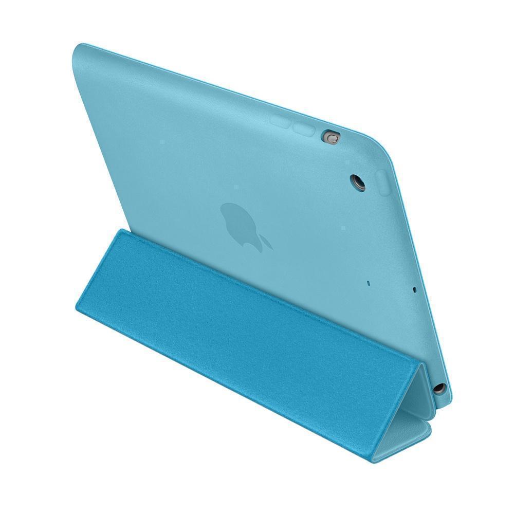 Купить со скидкой Чехол-книжка Smart Case для Apple iPad Air (искусственная кожа с подставкой) голубой