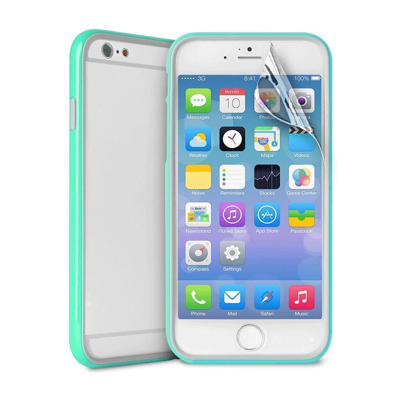 Чехол-бампер Puro Bumper Frame для Apple iPhone 6 Plus/6S Plus синийдля iPhone 6 Plus/6S Plus<br>Чехол-бампер Puro Bumper Frame для Apple iPhone 6 Plus/6S Plus синий<br>