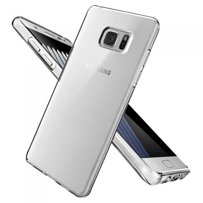 Купить Чехол-накладка Spigen SGP 562CS20405 Liquid Crystal для Samsung Galaxy Note 7 (Clear Crystal)