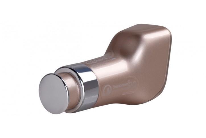 Купить Автомобильный блок питания Momax Top Series 2xUSB, 5V/4.8A (UC2) gold
