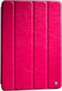 Чехол-книжка Hoco Crystal Series для Apple iPad Air (искусственная кожа с подставкой) Rose Red