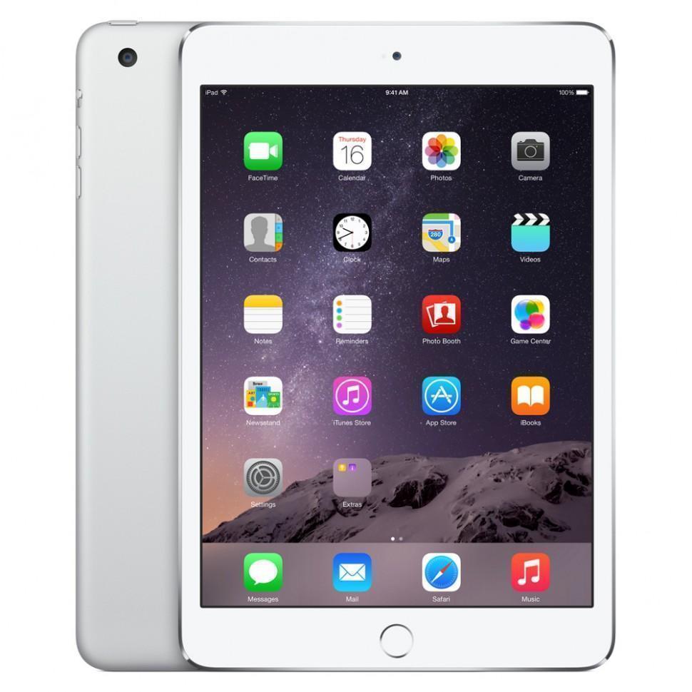 Apple iPad mini 3 64Gb Wi-Fi + Cellular Silver (MGJ12RU/A)
