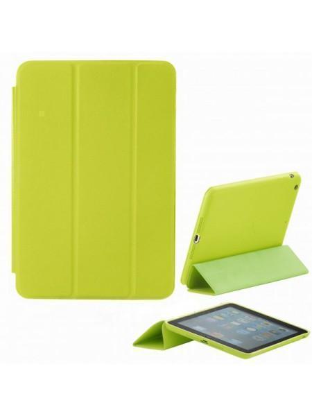 Чехол-книжка Apple Smart Case для Apple iPad mini 1/2/3 (натуральная кожа с подставкой) желтыйдля Apple iPad mini 1/2/3<br>Чехол-книжка Apple Smart Case для Apple iPad mini 1/2/3 (натуральная кожа с подставкой) желтый<br>
