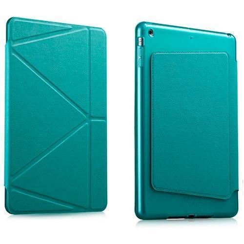 Чехол-книжка The Core Smart Case для Apple iPad Air 2 (силикон полиуретан с подставкой) мятный