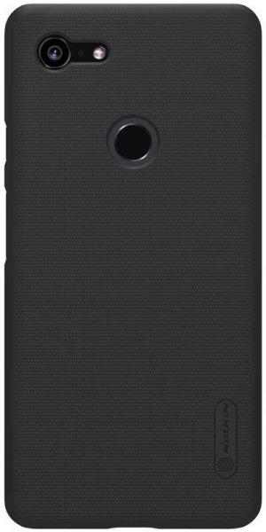 Купить Чехол-накладка Nillkin Super Frosted Shield для Google Pixel 3 пластиковый (черный)