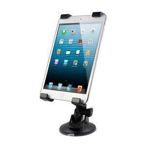 Автомобильный держатель для планшетов /GPS/DVD/TV на стекло черный