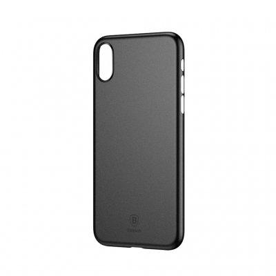 Купить Чехол-накладка Baseus Wing Case для iPhone XR полипропилен (прозрачно-черный)