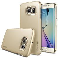 Купить Чехол-накладка Slim Case для Samsung Galaxy S6 Edge (золотой)