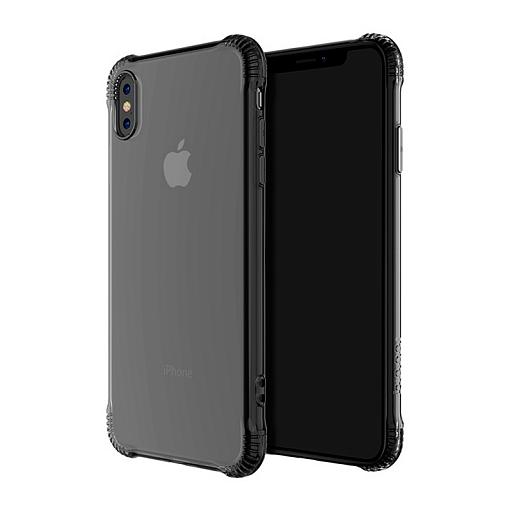 Чехол-накладка Hoco Armor Series для Apple iPhone X/Xs силиконовый (прозрачно-черный)
