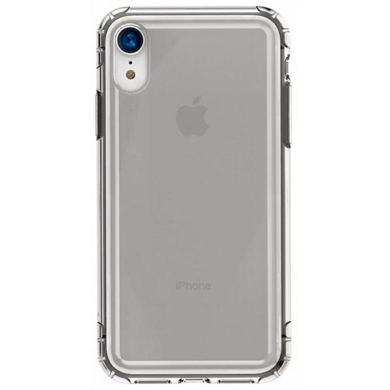 Купить Чехол-накладка Baseus Safety Airbags для iPhone XR силиконовый прозрачно-черный