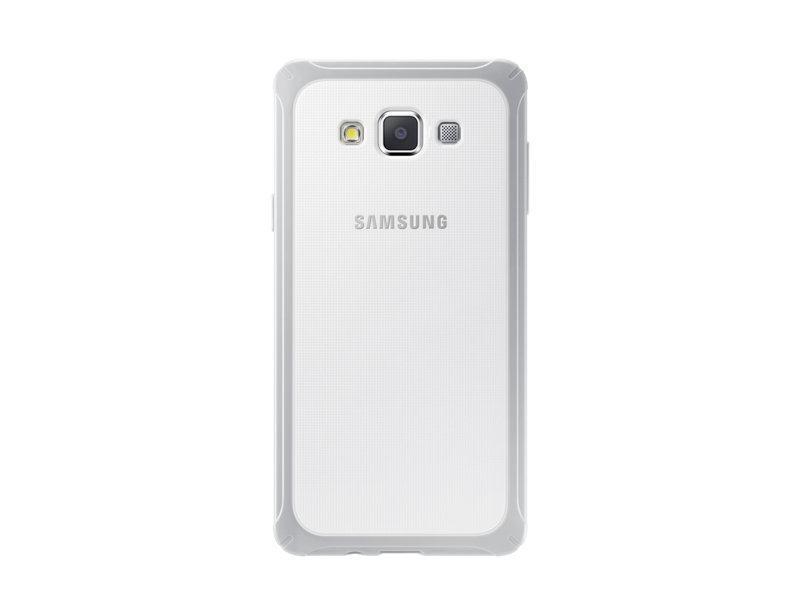 Чехол-накладка Samsung Protective Cover для Galaxy A7 пластик белый (EF-PA700BSEGRU)для Samsung<br>Чехол-накладка Samsung Protective Cover для Galaxy A7 пластик белый (EF-PA700BSEGRU)<br>