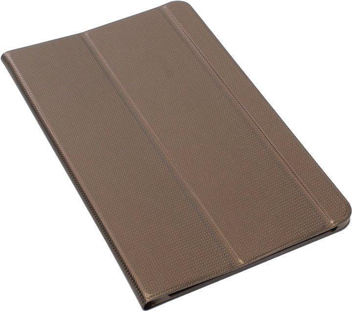 Чехол-книжка Samsung BookCover для Galaxy Tab E 9.6 SM-T561/SM-T560 полиуретан подставка коричневый