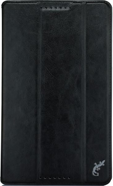 Чехол-книжка G-Case для Lenovo TAB 2 A8-50 (натуральная кожа с подставкой) чёрный