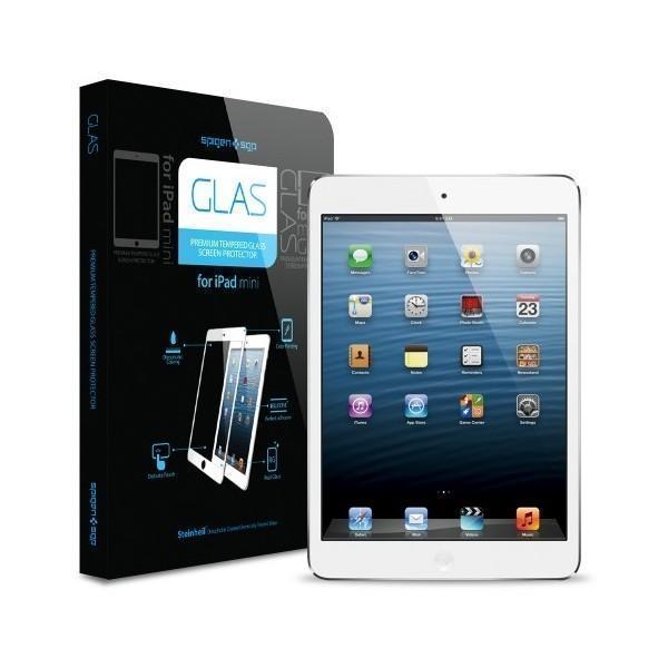 Защитное стекло Spigen SGP10124 GLAS Protector для Apple iPad mini /mini 2/mini 3 Белыйдля Apple iPad mini 1/2/3<br>Защитное стекло Spigen SGP10124 GLAS Protector для Apple iPad mini /mini 2/mini 3 Белый<br>