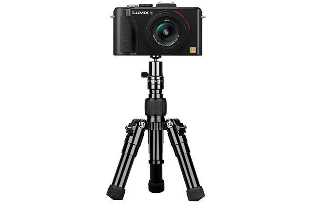 Трипод для смартфона,видеокамеры, фото и GoPro Momax Tripod PRO 5 TRS5 алюминий 42см черный