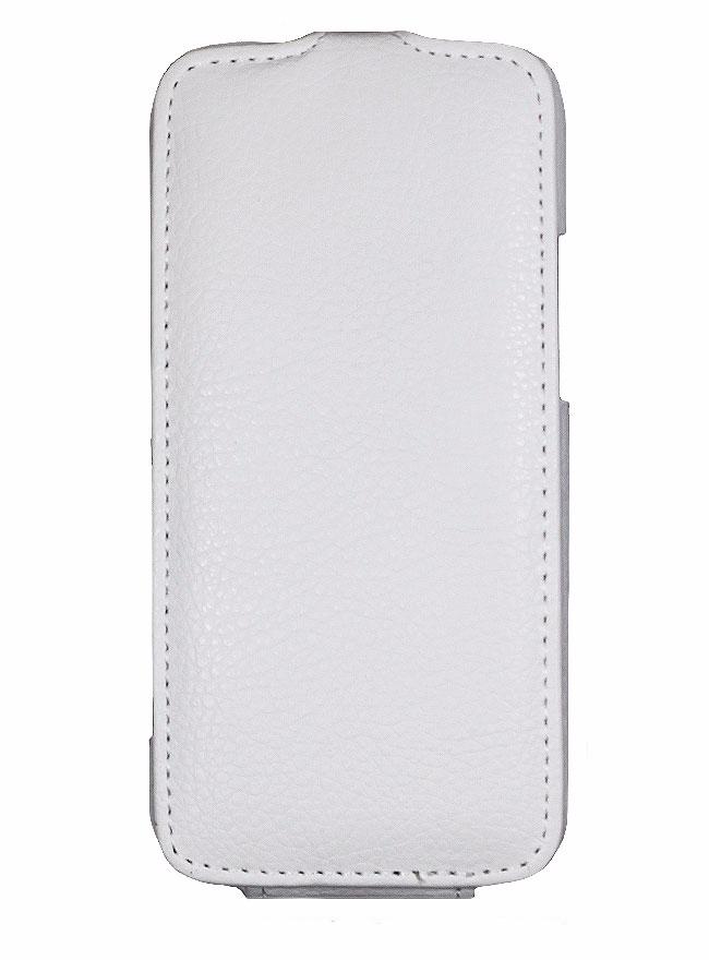 Чехол-книжка Armor Case для HTC One mini искусственная кожа белыйдля HTC<br>Чехол-книжка Armor Case для HTC One mini искусственная кожа белый<br>