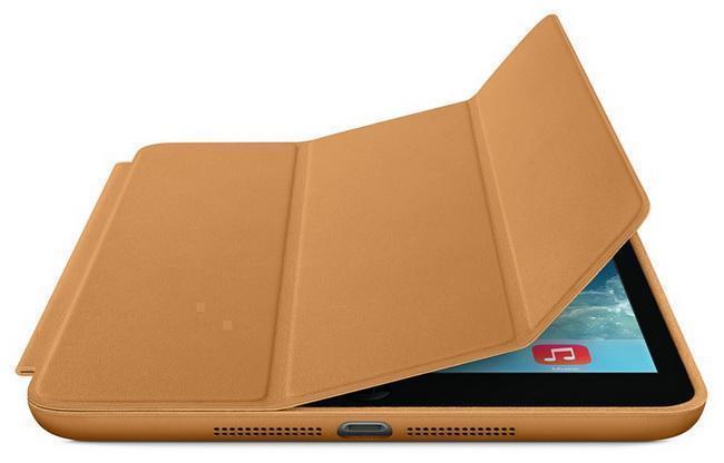 Чехол-книжка Smart Case для Apple iPad mini 1/2/3 (искусственная кожа с подставкой) светло-коричневыдля Apple iPad mini 1/2/3<br>Чехол-книжка Smart Case для Apple iPad mini 1/2/3 (искусственная кожа с подставкой) светло-коричневы<br>