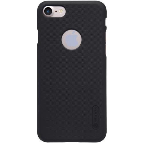 Чехол-накладка Nillkin Frosted Shield для Apple iPhone 7/8 пластиковый черныйдля iPhone 7/8<br>Чехол-накладка Nillkin Frosted Shield для Apple iPhone 7/8 пластиковый черный<br>