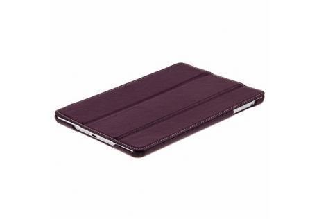 Чехол-книжка Melkco Slimme Type для Apple iPad mini 1/2/3 (натуральная кожа с подставкой) фиолетовый