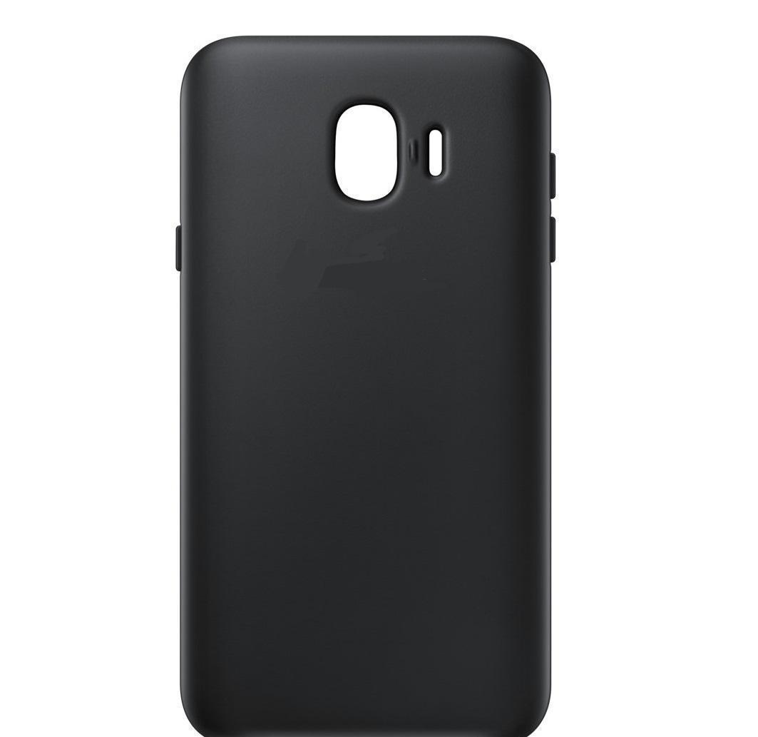 Купить Чехол-накладка для Samsung Galaxy J4 (2018) SM-J400 силиконовый (черный)