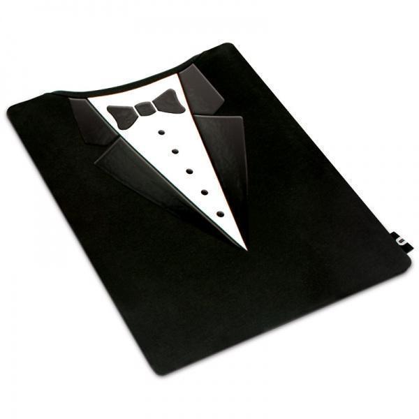Чехол-папка Luckies Smart Tablet для планшета универсальный (текстиль) в виде фрака черный