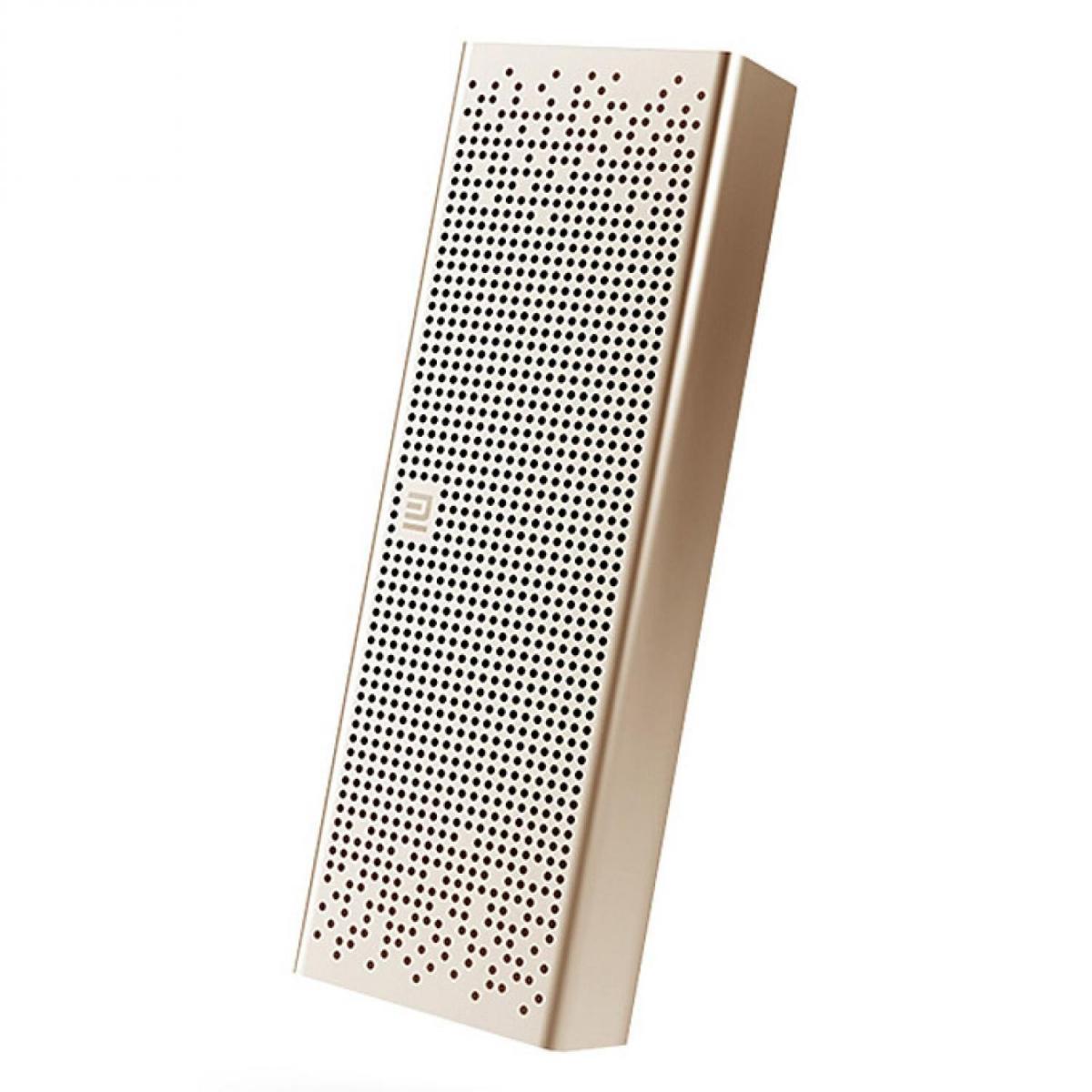 Портативная колонка Xiaomi Mi Mini Square Box 2 Bluetooth Gold (Pocket Audio)