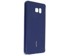Купить Чехол-накладка Cherry для Samsung Galaxy Note 5 Edge силиконовый матовый (темно-синий)