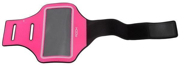 Купить Спортивный-чехол на руку Rock Slim Sport Armband для Apple iPhone 7 /6 /6S неопрен Rose Red