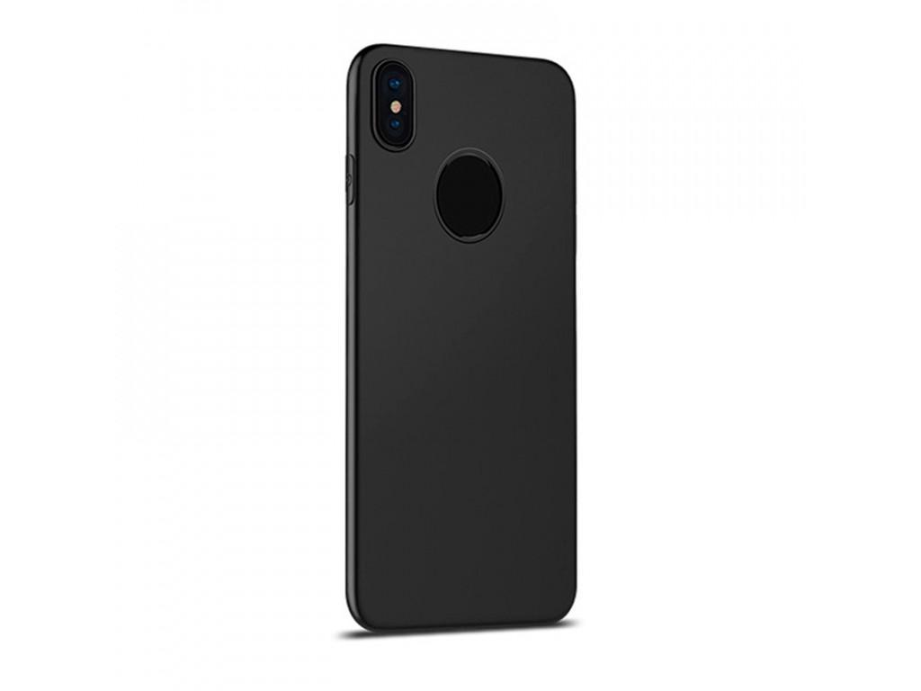 Купить Чехол-накладка Hoco Fascination Series Case для Apple iPhone X (10) силикон черный