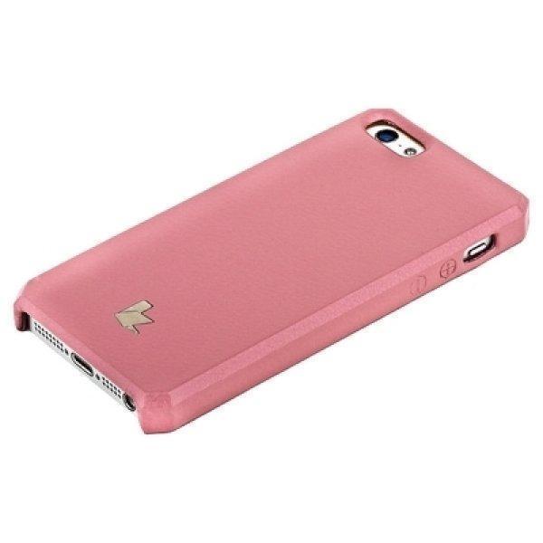 Купить Чехол-накладка Jison Case для Apple iPhone SE/5S/5 (Pink)