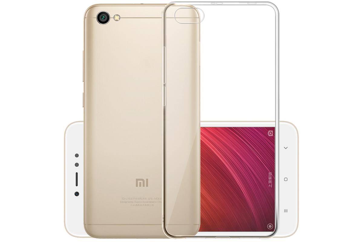 Купить Чехол-накладка j-case 0.5mm THIN для Xiaomi Redmi Note 5A силикон (прозрачный)