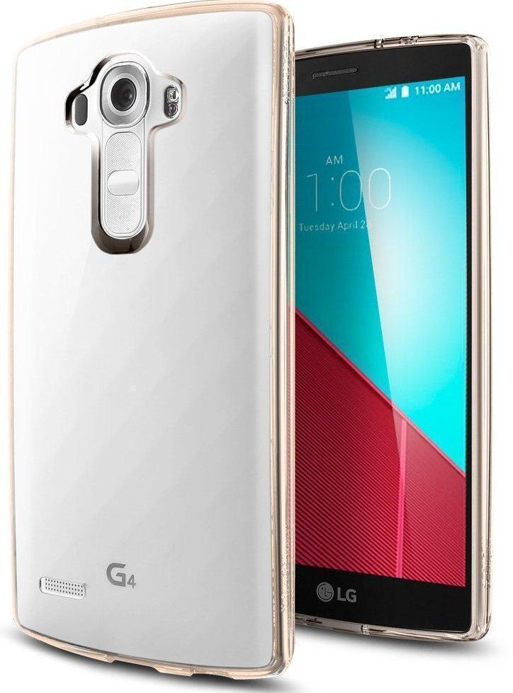Чехол-накладка Spigen Ultra Hybrid (SGP11518) для LG G4 резина, пластик Кристально-золотойдля LG<br>Чехол-накладка Spigen Ultra Hybrid (SGP11518) для LG G4 резина, пластик Кристально-золотой<br>